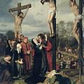 Crucifixion by Eduard Karl Franz von Gebhardt