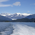 Cruise Ship Mountains by Richard J Cassato