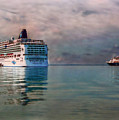 Cruise Ship Parking by Hanny Heim