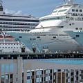 Cruise Ship Trio by Fred Boehm