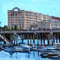 Cruiseport Boston by Deb Putnam