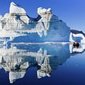 Cruising Between The Icebergs, Greenland by Henk Meijer Photography