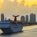 Cruising Into Miami by Ed Gleichman