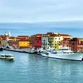 Cruising Into Venice # 2 by Mel Steinhauer