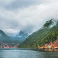 Cruising Lake Como Italy by Joan Carroll