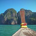 Cruising Maya Bay by Megan Martens