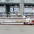 Cruising The Ohio River by Art Block Collections