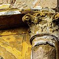Crumbling Wall In Rhodes Town, Rhodes, Greece by Global Light Photography - Nicole Leffer