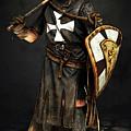 Crusader Warrior - 02 by Andrea Mazzocchetti