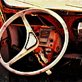Crusty Citroen Interior by Glenn McCarthy Art and Photography