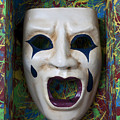 Crying Mask In Box by Garry Gay