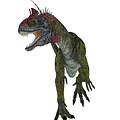 Cryolophosaurus Dinosaur Aggression by Corey Ford
