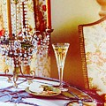 Crystal And Champagne by Jacqueline Manos