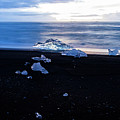 Crystal Beach Iceland by Brad Scott