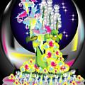 Crystal Boquet II by George Pasini