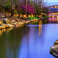 Crystal Bridges Museum Of American Art On A Spring Night by Gregory Ballos