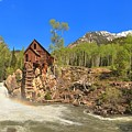 Crystal Colorado Dead Horse Mill by Adam Jewell
