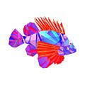 Crystal Fish - 20 by Jovemini ART