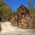 Crystal Mill Rainbow Portrait by Adam Jewell