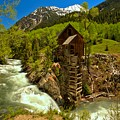 Crystal Mill Summer Landscape by Adam Jewell