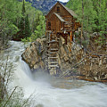 Crystal Mill Swirls by Dusty Demerson