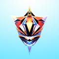 Crystal Shapes - 24 by Jovemini ART