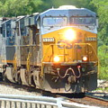 Csx Engine 5333 by William Rogers