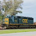Csx Sd40-3 by John Black