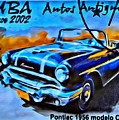 Cuba Antique Auto 1956 Catalina by Modern Art