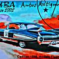 Cuba Antique Auto 1959 Fleetwood by Modern Art