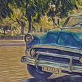 Cuba Car by David Frigerio