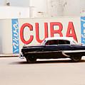 Cuba Car by Gareth M Thomas