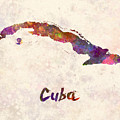 Cuba In Watercolor by Pablo Romero