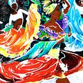 Cuban Dancers - Magical Rhythms... by Elisabeta Hermann