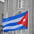 Cuban Flag by Jost Houk