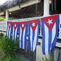 Cuban Flags by Pema Hou