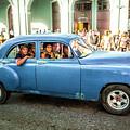 Cuban Taxi by Lou Novick