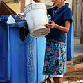 Cuban Woman With Cigar by Joan Carroll
