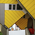 Cube Houses Detail In Rotterdam by RicardMN Photography