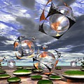 Cubes Capture Spheres In Another World by Dave Martsolf