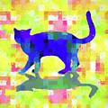 Cubist Cat by Susan Lafleur