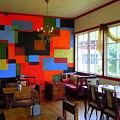 Cubist Mural At El Encanto by Scott K Wimer