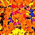 Cubist Tesseract by Michael Potts