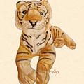 Cuddly Tiger by Angeles M Pomata
