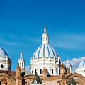 Cuenca Cathedral Domes by Jess Kraft