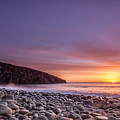 Cullernose Point At Sunrise by David Head