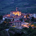 Cultural Heritage Monument Medieval Hilltop Village Of Smartno B by Reimar Gaertner