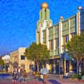 Culver City Plaza Theaters   by David Zanzinger