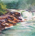 Cumberland Falls by Donna Pierce-Clark