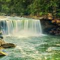 Cumberland Falls by Priscilla Burgers